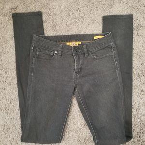 Tory Burch Black Super Skinny Denim Jeans Size 25